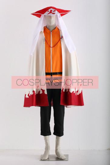 Naruto Seventh Hokage Naruto Uzumaki Cosplay Costume