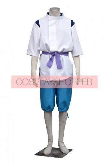 Spirited Away Haku Cosplay Costume