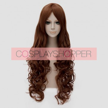 Brown 80cm Toradora! Taiga Aisaka Cosplay Wig