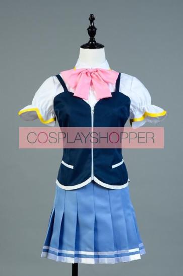 Valkyrie Drive Mermai Mamori Tokonome Cosplay Costume