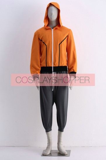 The Last: Naruto the Movie Naruto Uzumaki Outfit Cosplay Costume