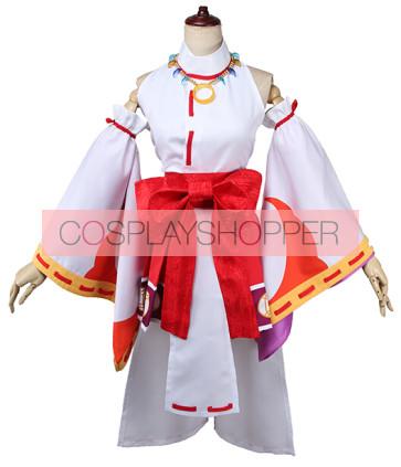 Love Live! Rin Hoshizora Shrine Maiden Ver. Coslay Costume