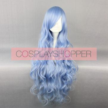 Blue 90cm Date A Live Yoshino Cosplay Wig