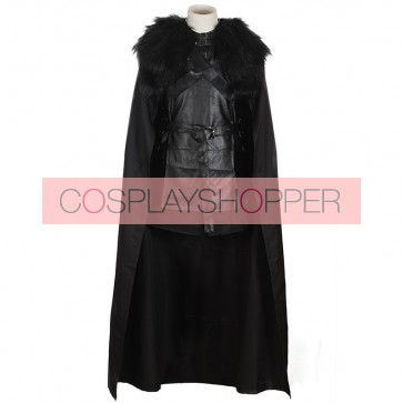 Game Of Thrones Jon Snow Cosplay Cotume