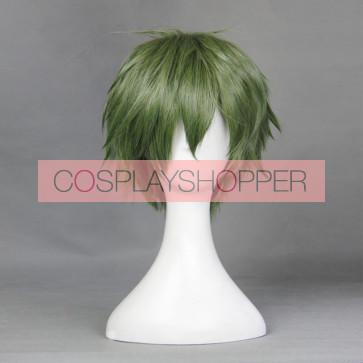 Green 30cm Aoharu x Kikanjuu (Aoharu x Machinegun) Nagamasa Midori Cosplay Wig