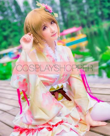 Love Live! Hanayo Koizumi September Ver. Kimono Cosplay Costume