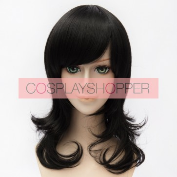 Black 50cm Ensemble Stars Rei Sakuma Cosplay Wig