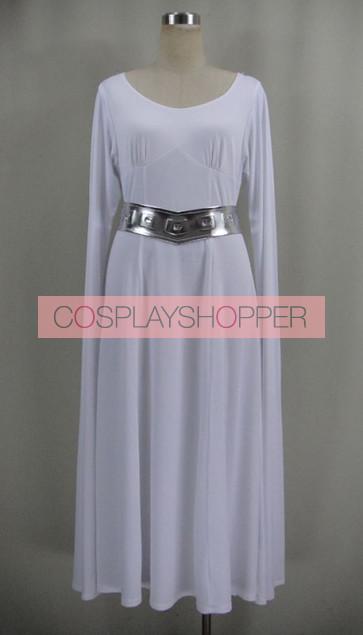 Star Wars Princess Leia Organa Cosplay Costume