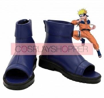 Naruto Uzumaki Naruto Ninja Blue Cosplay Shoes