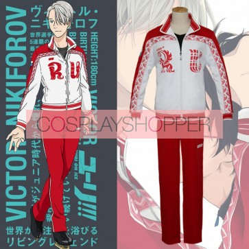 Yuri!!! on Ice Victor Nikiforov Cosplay Costume