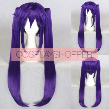 Purple 80cm School-Live! Kurumi Ebisuzawa Cosplay Wig
