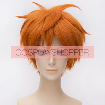 Orange 30cm Ensemble Stars Akehoshi Subaru Cosplay Wig