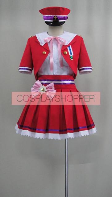 The Idolmaster Cinderella Girls Uzuki Shimamura New Generations Cosplay Costume
