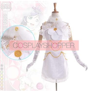 Love Live! SR Nozomi Tojo Wedding Dress Cosplay Costume