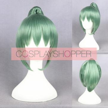 Green 32cm Kantai Collection Yubari Cosplay Wig