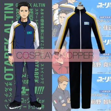 Yuri!!! on Ice Otabek Altin Cosplay Costume