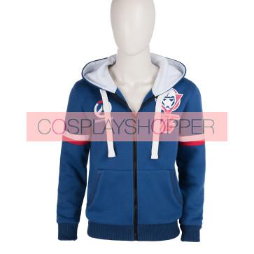 Overwatch Hoodie Jacket Cosplay Costume