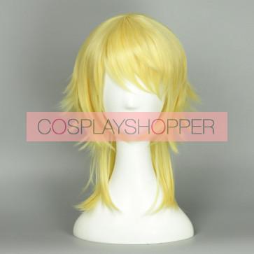 Gold 45cm Love Live! Eli Ayase Male Version Cosplay Wig