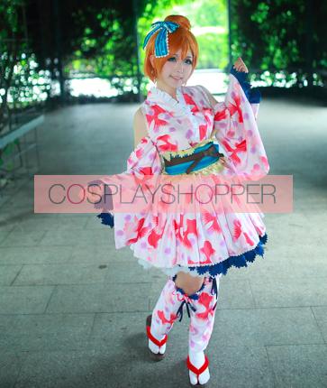 Love Live! Honoka Kosaka September Ver. Kimono Cosplay Costume