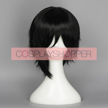 Black 35cm Love Live! Nico Yazawa Male Version Cosplay Wig