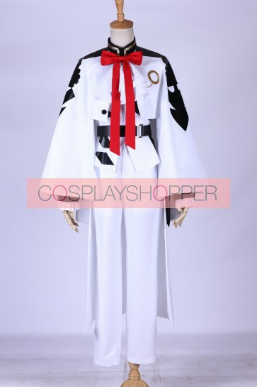 Seraph of the End: Vampire Reign (Owari no Serafu) Ferid Bathory Cosplay Costume