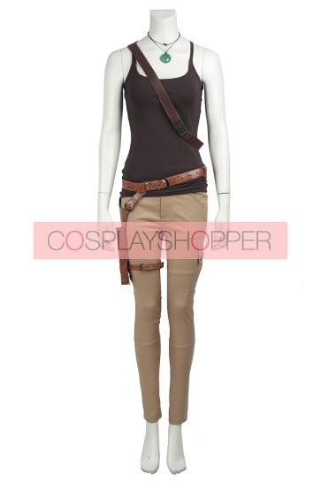 Tomb Raider Lara Croft Cosplay Costume