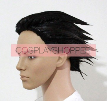 Black Apollo Justice: Ace Attorney Phoenix Wright Cosplay Wig