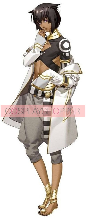 Kamigami no Asobi: Ludere deorum Anubis Ma'at Long Sleeves Cosplay Costume