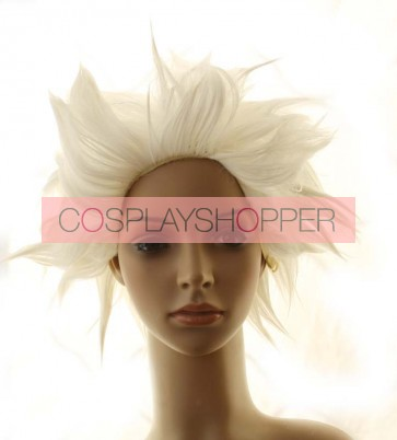 White Apollo Justice: Ace Attorney Godot Cosplay Wig