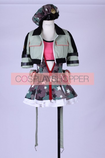 Love Live! Maki Nishikino Military Ver. Cosplay Costume