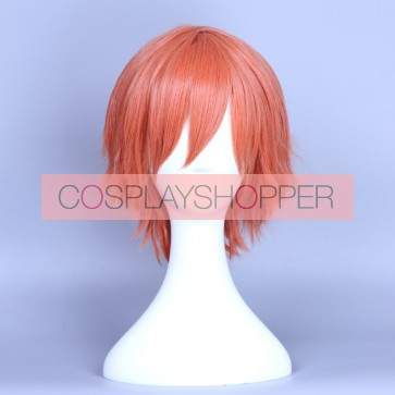 Orange 35cm Love Live! Rin Hoshizora Male Version Cosplay Wig