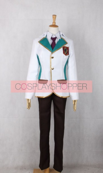 Star-Myu Shu Kuga Cosplay Costume
