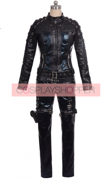 Arrow Black Canary Laurel Lance Cosplay Costume