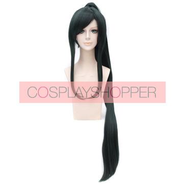 Dark Green 110cm Touken Ranbu Taroutachi Cosplay Wig
