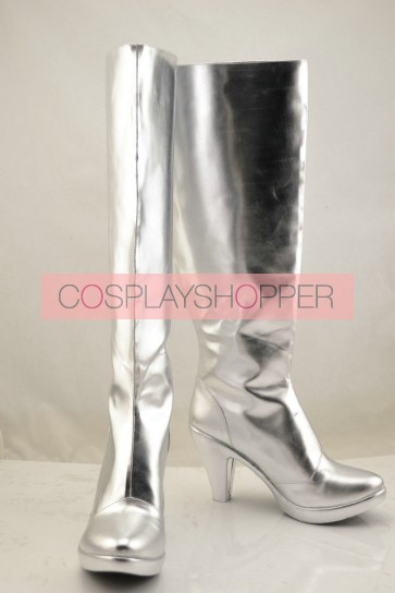 Fate Stay Night Saber Sliver Cosplay Boots