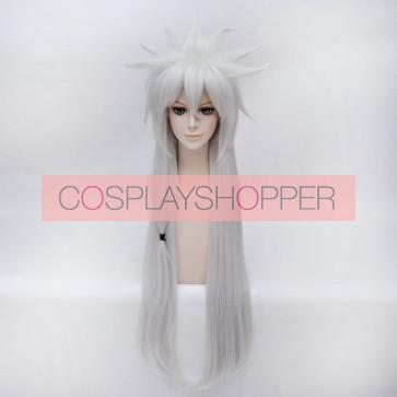 Silver 100cm Touken Ranbu Kogitsunemaru Cosplay Wig