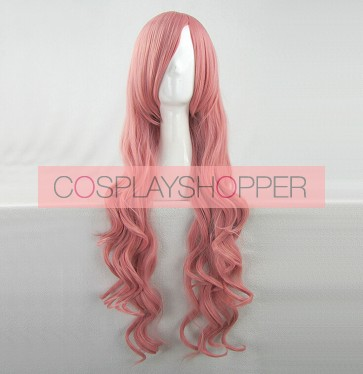 Pink 80cm Baka to Test to Shoukanjuu Baka and Test Mizuki Himeji Cosplay Wig