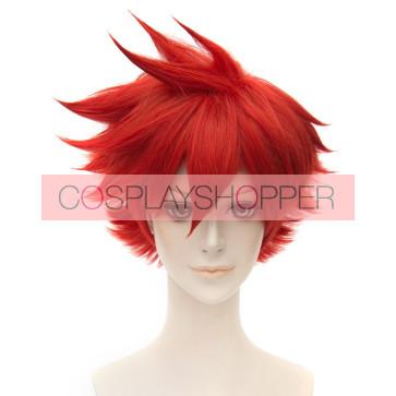 Red 30cm Touken Ranbu Aizen Kunitoshi Cosplay Wig