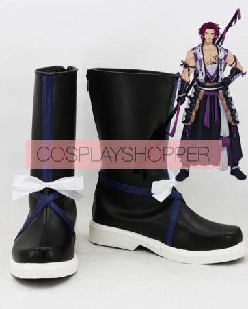 Touken Ranbu Tonbokiri Cosplay Boots