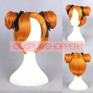 Orange 32cm Love Live! Honoka Kosaka January Ver. Cosplay Wig
