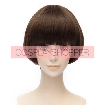 Brown 30cm Touken Ranbu Hirano Toushirou Cosplay Wig