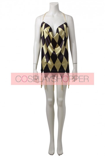 Suicide Squad Harley Quinn Dress Cosplay Costume