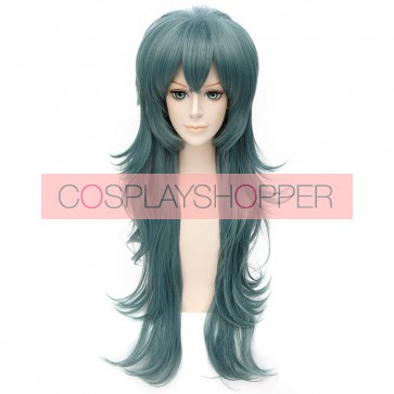 Dark Green 80cm Tokyo Ghoul Sen Takatsuki Eto Cosplay Wig