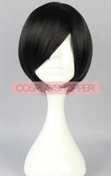 Black 30cm Kimi to Boku Akira Cosplay Wig