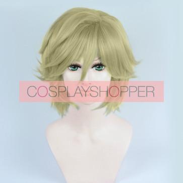 Blonde 30cm Bakumatsu Rock Yoshinobu Tokugawa Cosplay Wig