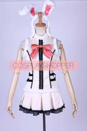 Love Live! SR Valentine's Day Nozomi Tojo Bunny Cosplay Costume