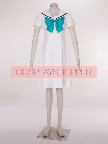 CardCaptor Sakura Sakura Kinomoto White Cosplay Dress