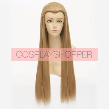 The Hobbit Lord of the Rings Legolas Cosplay Wig