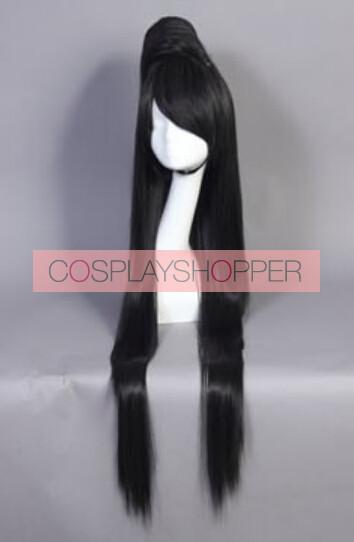 Black 120cm Bayonetta Cosplay Wig