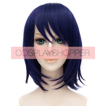 Bule 30cm Kantai Collection Tenryu Cosplay Wig